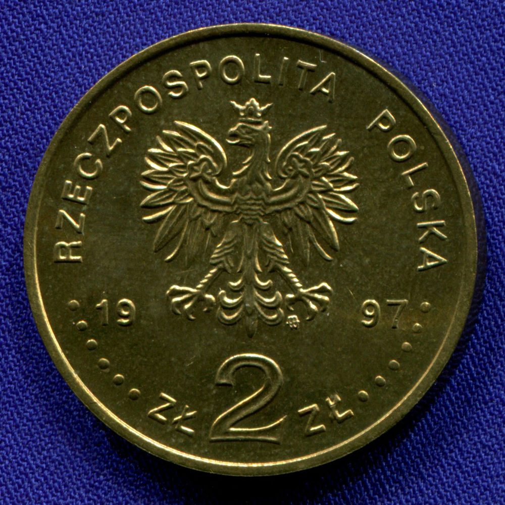 Польша 2 злотых 1997 aUNC Павел Эдмунд Стшелецкий  - 1