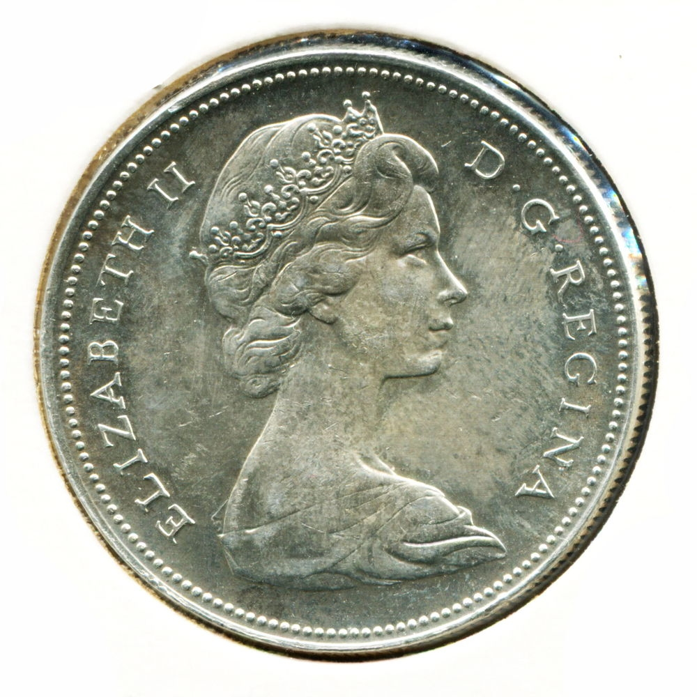 Канада 1 доллар 1966 XF - 1