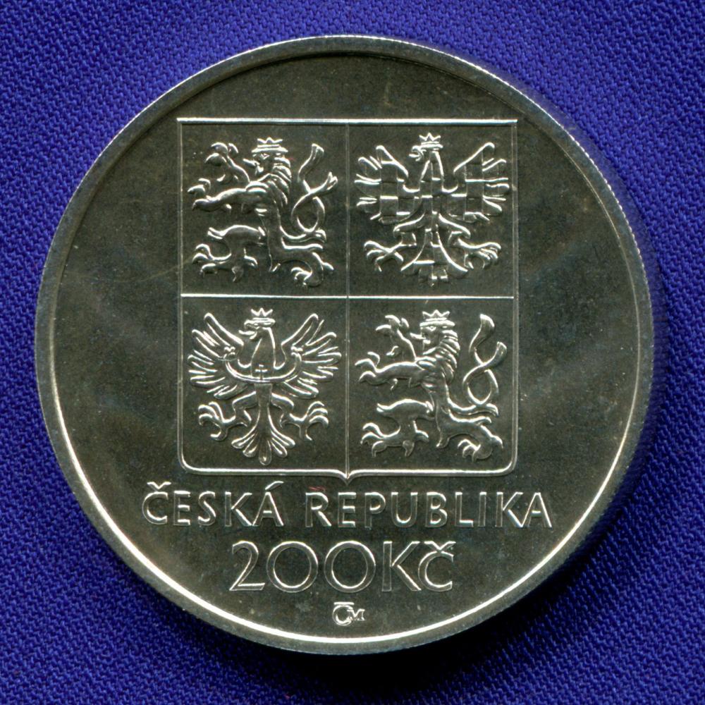 Чехия 200 крон 1998 UNC Франтишек Кмох  - 1