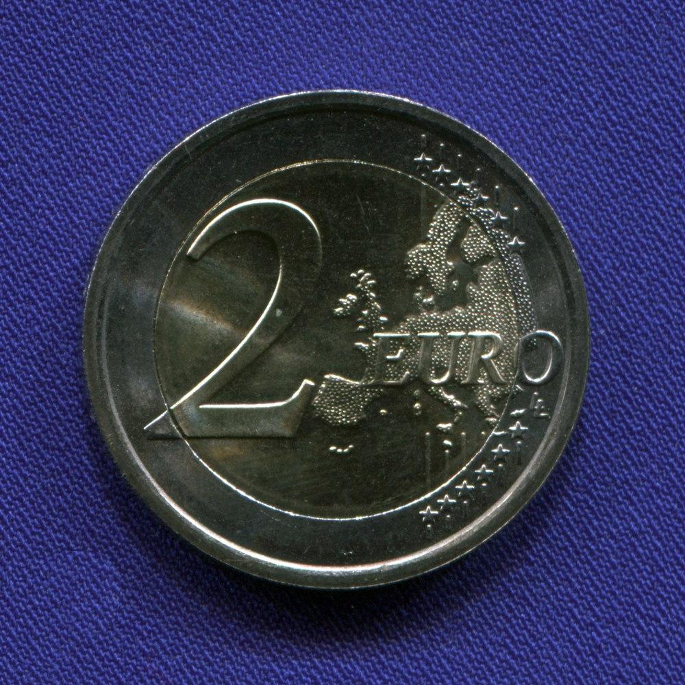 Германия 2 евро 2007 aUNC   Римский Договор  - 1