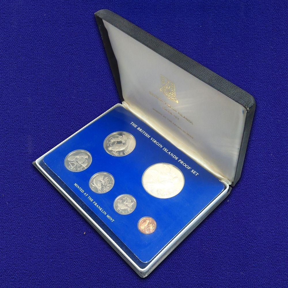 Британские Виргинские острова набор - 6 монет 1975 Proof  - 2