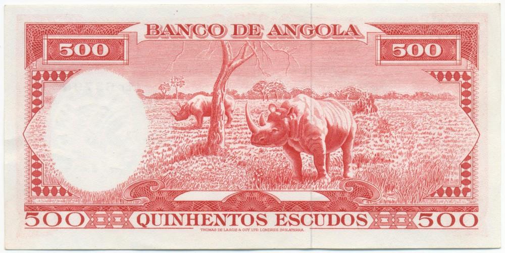 Ангола 500 эскудо 1962 aUNC - 1
