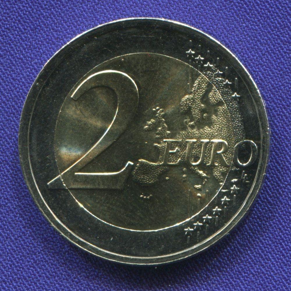 Литва 2 евро 2017 UNC Вильнюс  - 1