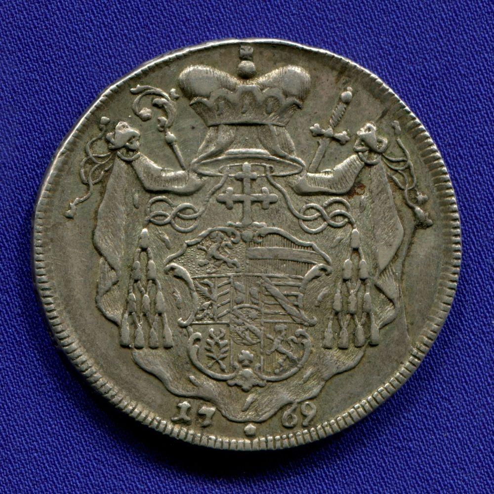 Австрия/Зальцбург 1 талер 1769 GVF  - 1