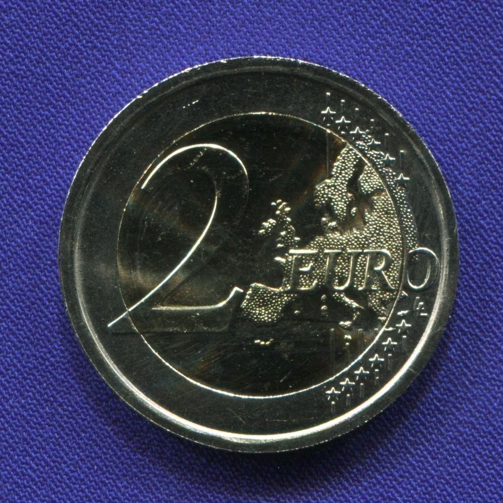 Италия 2 евро 2016 UNC Тит Макций Плавт  - 1