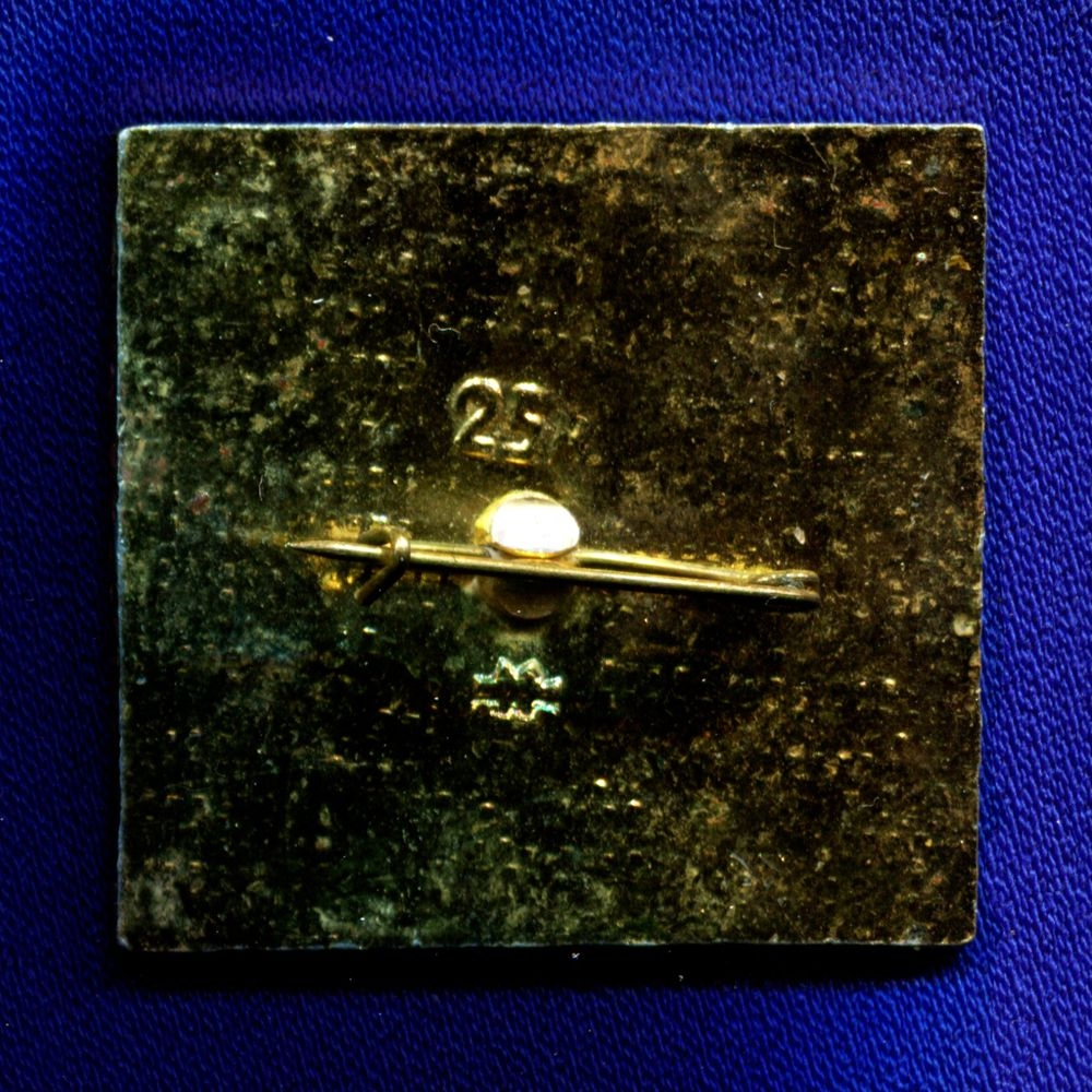 Детский значок «Козленок считает до 10» Легкий металл Булавка - 1