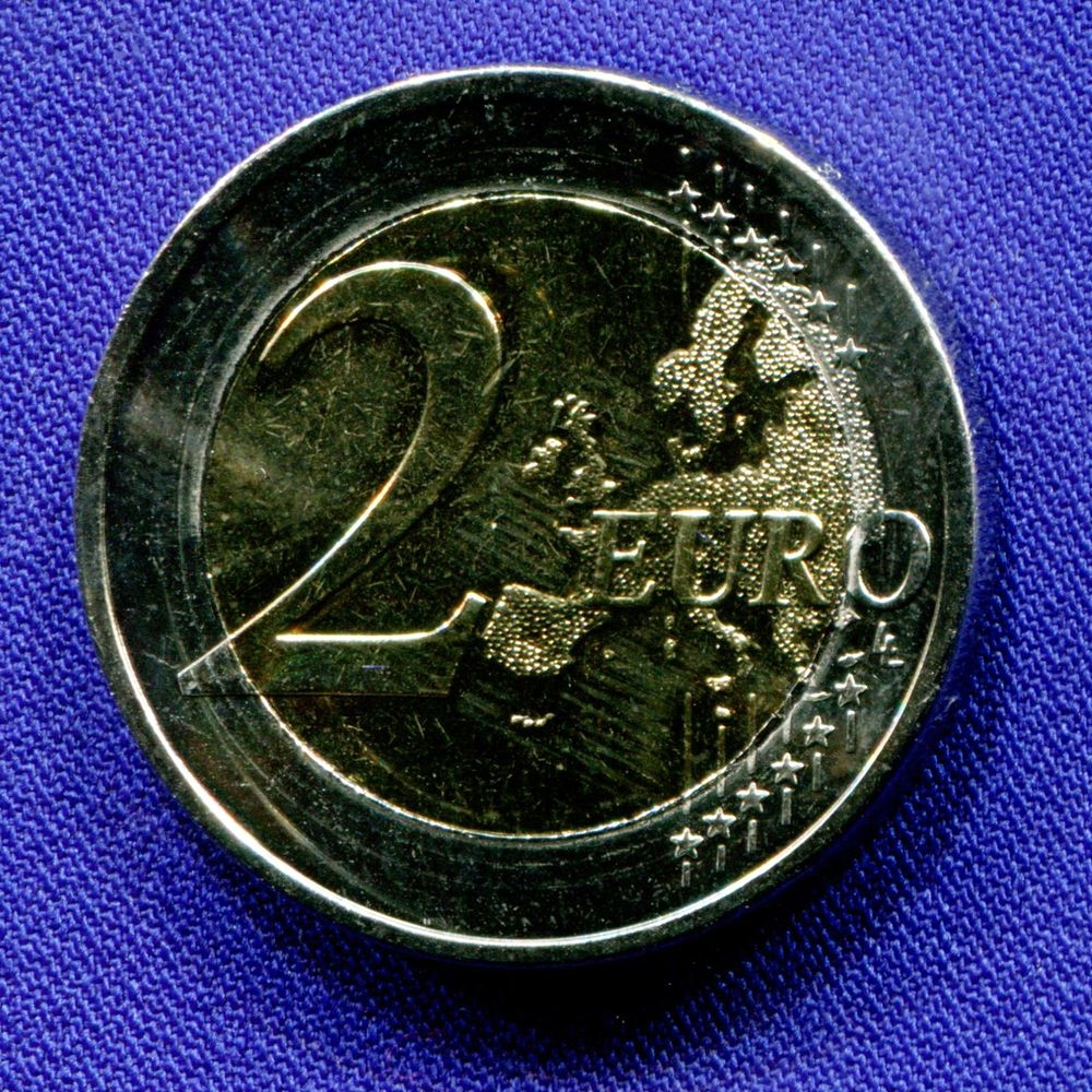 Греция 2 евро 2014 UNC Доменикос Теотокопулос  - 1