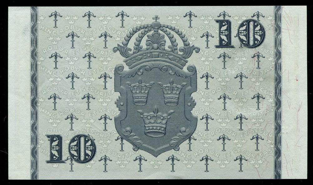 Швеция 10 крон 1957 - 1