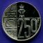 Бельгия 250 франков 1997 UNC 60 лет со дня рождения Королевы Паолы  - 1