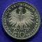 Германия 10 марок 1992 aUNC 150 лет ордену Pour-le-Merite за заслуги в науке и искусстве  - 1