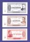 Набор расчетных билетов / Союз бонистов / 2015 года / 6 штук / С водяными знаками / UNC - 1