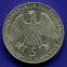 ФРГ 5 марок 1968 aUNC 150 лет со дня рождения Фридриха Вильгельма Райффейсена  - 1