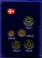 Дания набор - 5 монет 1991 UNC - 1