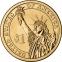 США 1 доллар 2007 года президент №4 Джеймс Мэдисон - 1