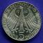 ФРГ 5 марок 1969 aUNC 150 лет со дня рождения Теодора Фонтане  - 1